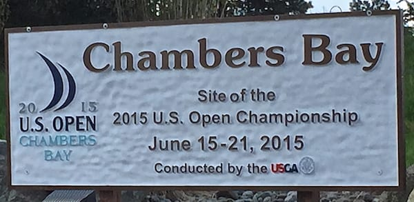 Chambers Bay US Open Championship breeds greed.