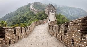 The Great Wall of China withstands the test of time.