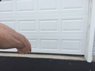 And once the door is fully closed, Joe wins. Should he be struck by the mail truck after the door is closed, judges will call a foul on the mail truck.